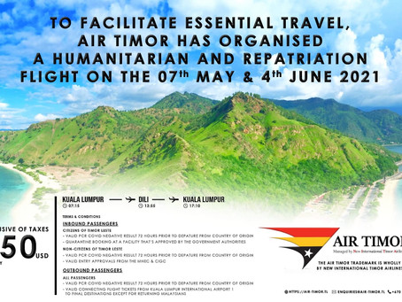 Air Timorフライト情報