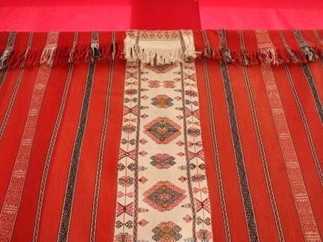 ティモール織物展示会