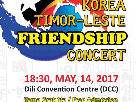 東ティモールと韓国の交友コンサート2017