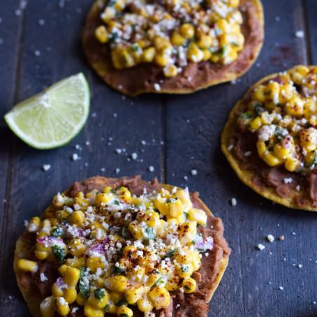 Mexican Street Corn Toastadas