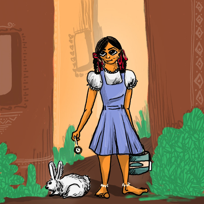 Alisha in Wunderpur // Alice in Wonderland