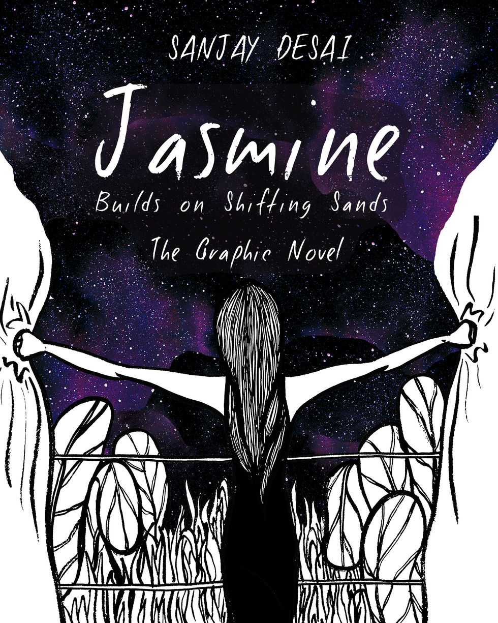 Jasmine Builds on Shifting Sands - Cover
