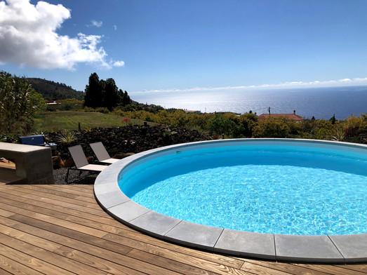 Saltwater pool VILLA HAHN La Palma Holiday home