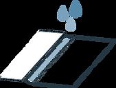 Icône logo de collage des packagings