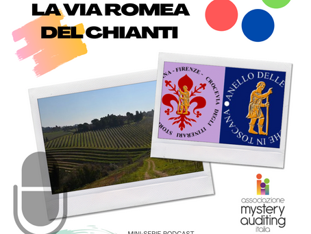 Mystery Walker: La via Romea del Chianti