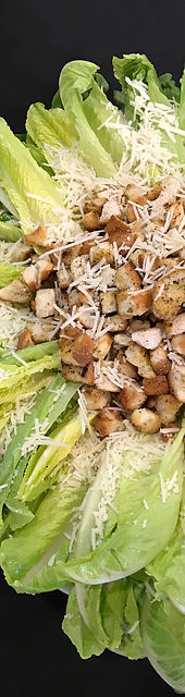 Ceaser salad with crountons and chicken