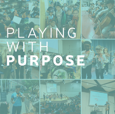 Playing With Purpose. A Message from our Executive Director