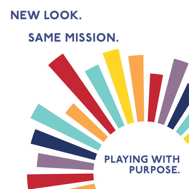 New Look. Same Mission. Playing With Purpose