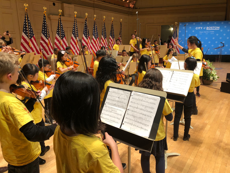 Symphony Hall Debut