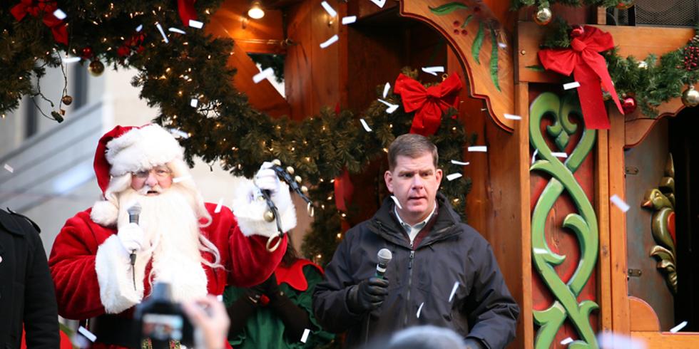 Mayor's Enchanted Trolley Tour & Tree Lightings