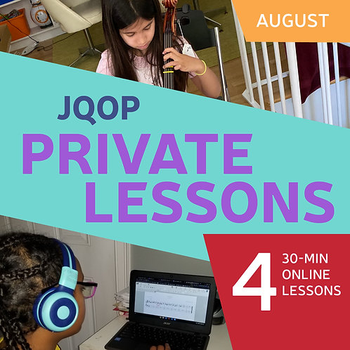 Four 30-minute Private Lessons