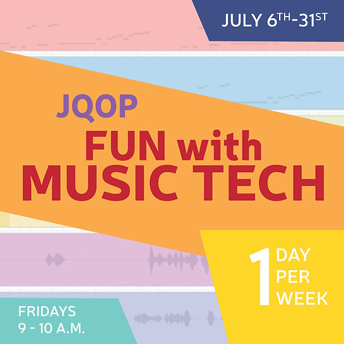 Fun with Music Tech (4 Sessions)