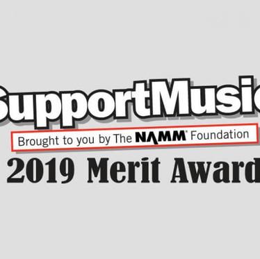 Josiah Quincy receives national NAMM Award