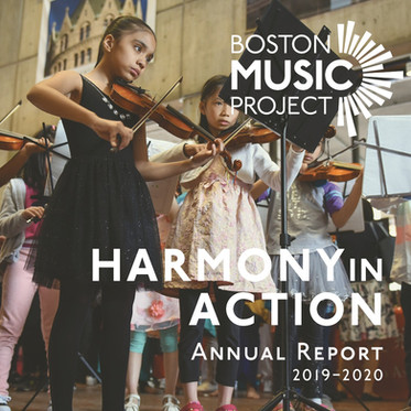 Harmony in Action | 2019-2020 Annual Report