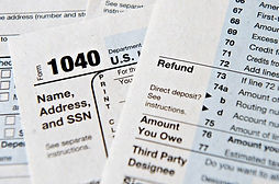 income taxes, tax preparation services