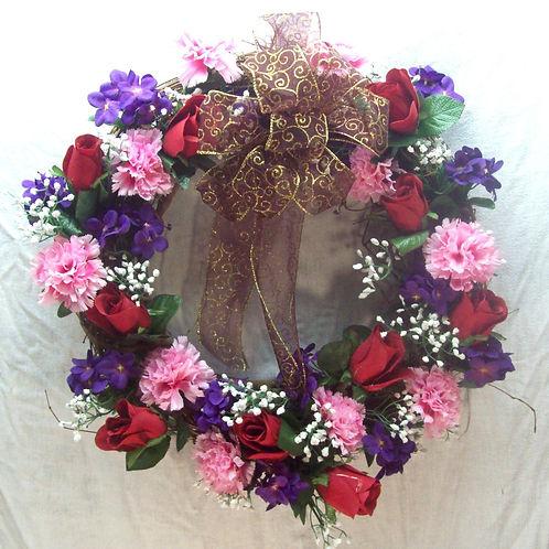 Nice Valentine Wreath