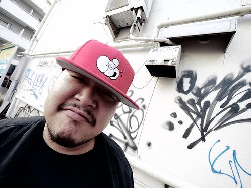 JFH THROW UP BB CAP (RED)