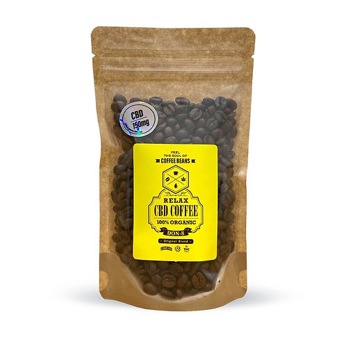 Relax CBD Coffee BEANS (100g) by DON-8 Original Brend