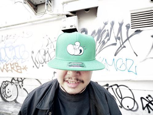 JFH THROW UP BB CAP (GREEN)