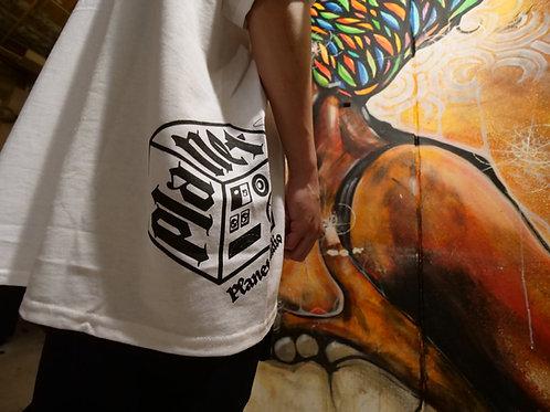 BIG LOGO RADIO T-Shist (白)