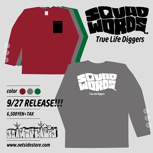 Squad Words - True Life Diggers Long-Shirts