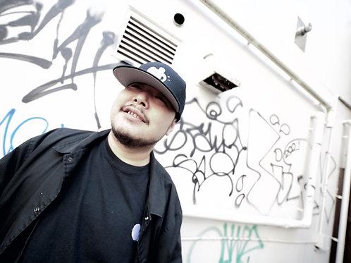 JFH THROW UP BB CAP (BLK)