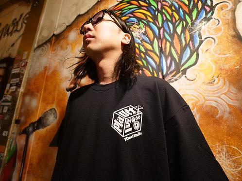 BIG LOGO RADIO T-shirt (黒