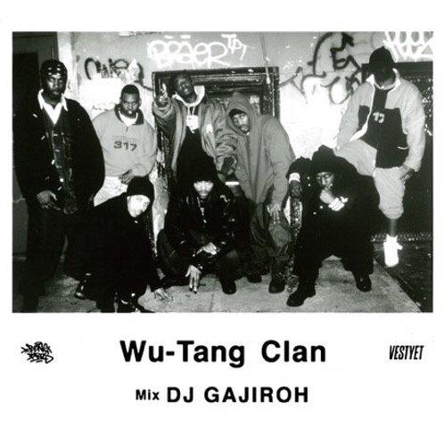 DJ GAJIROH - WU-TANG CLAN [MIX CD] BONG BROS RECORDS