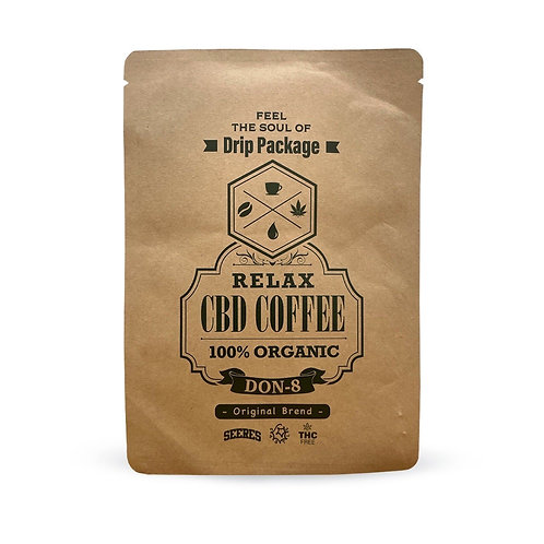 Relax CBD Coffee Drip Package(10g ×2パッケージ) by DON-8 Original Brend