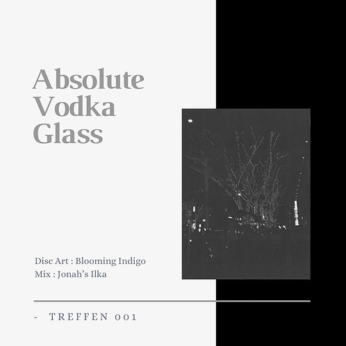 Blooming Indigo × Jonah's Ilka treffen 001 -Absolute Vodka Glass-