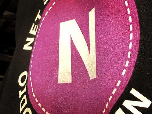 Net Side Shop Logo L/S Tee (BLACK)