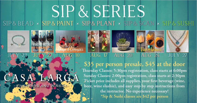 Sip & Series Advertising