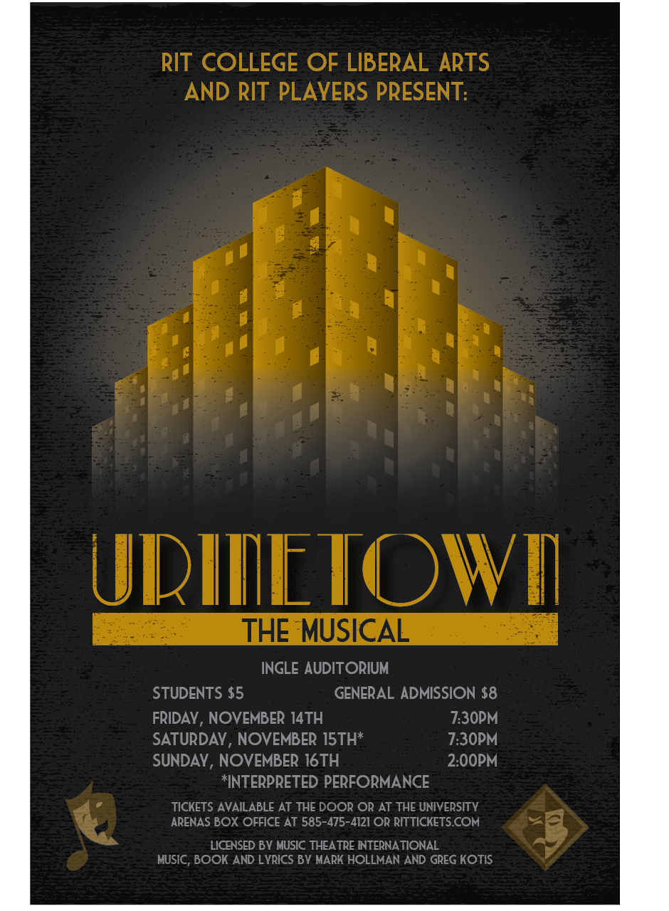 RIT Players Production of Urinetown