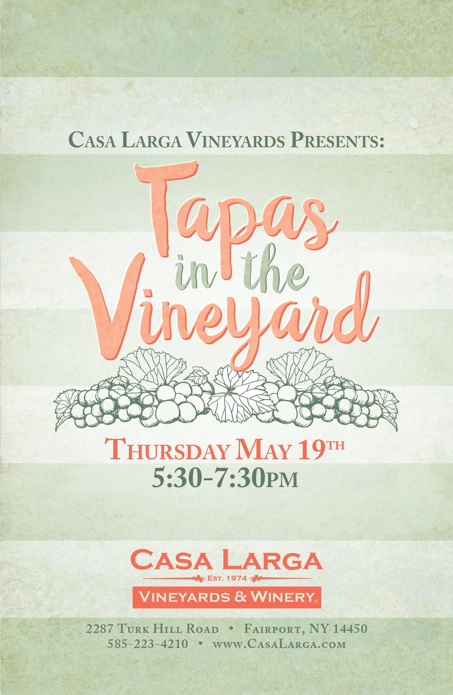 Tapas in the Vineyard