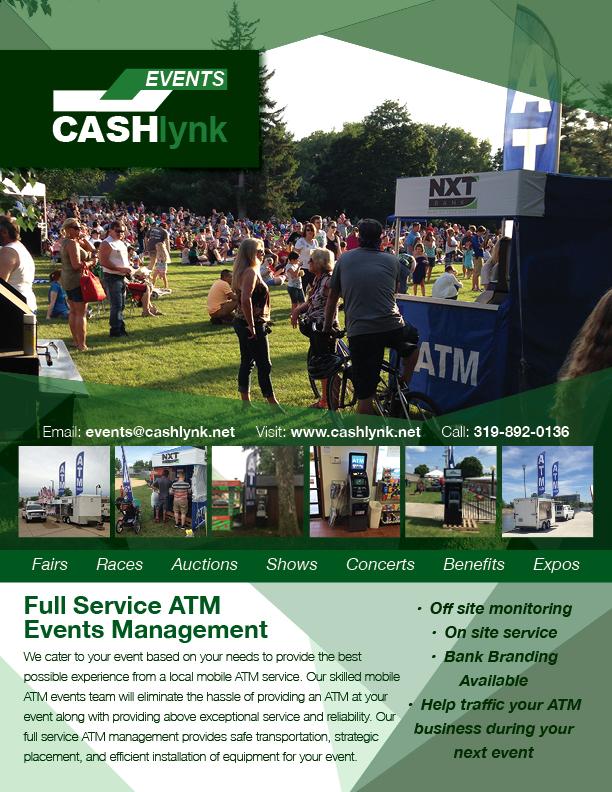 CashLynk Events Flier
