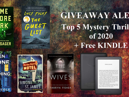 The Five Best Crime Thriller Books of 2020 via the Readers Choice Awards on Goodreads
