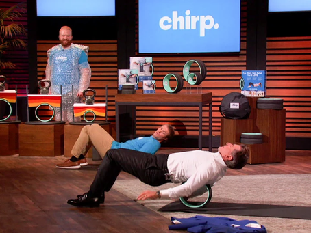 "Shark on ""Shark Tank"" takes Tate's bait, Young Utah Entrepreneur Lands $900,000 deal for Chirp"