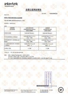 全國公證-抗菌鍍膜24h抗菌-金黃&大腸