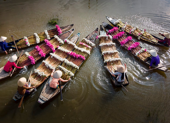 Flower boats