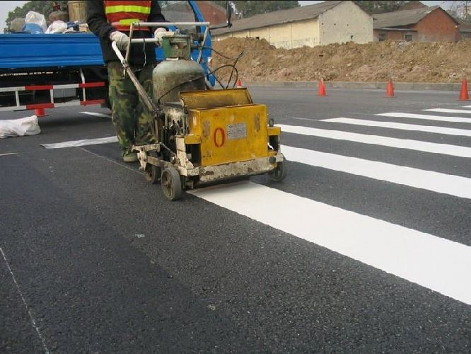 צביעת כבישים-סימון דרכים-סימון חניון