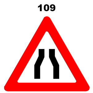 תמרור 109