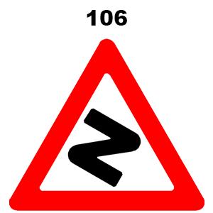 תמרור 106