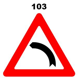 תמרור 103