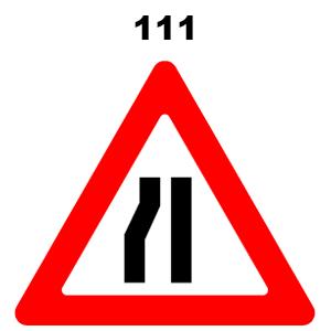 תמרור 111