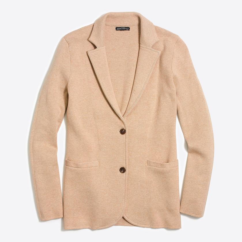 J. Crew Factory Sweater Blazer