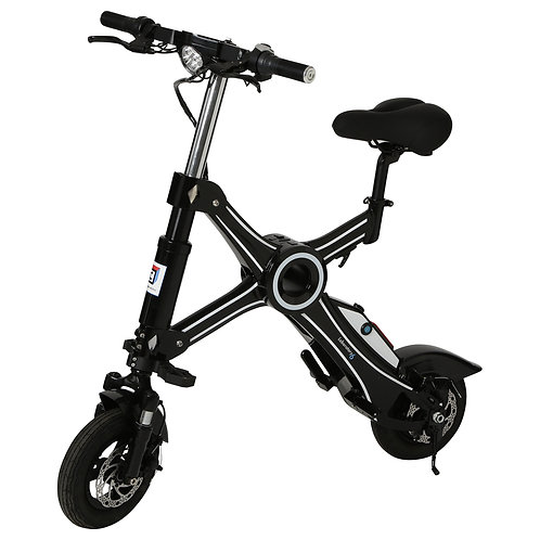 "Capricorn X01 - a folding e-bike with ""Cambrian within"" from Japan"