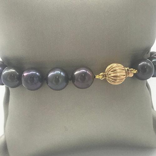 Ball Gold Pearl Bracelet