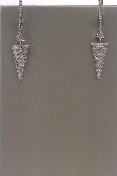 Triangle Drop Earrings