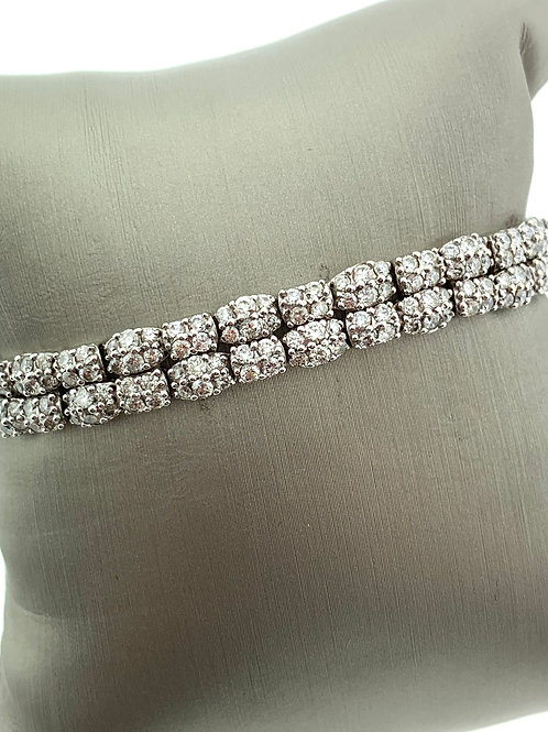White Gold Diamond Fashion Bracelet