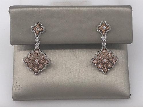 Dangle Filigree Diamond Earring